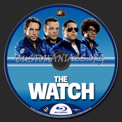 The Watch blu-ray label