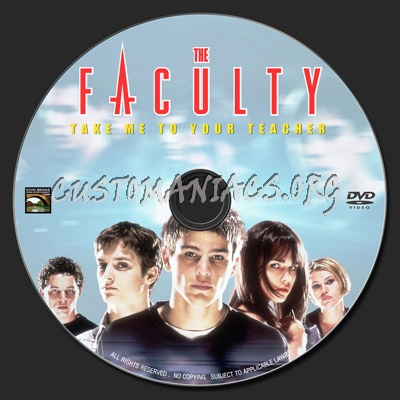 The Faculty dvd label