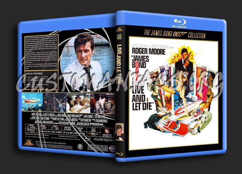 Live and Let Die blu-ray cover