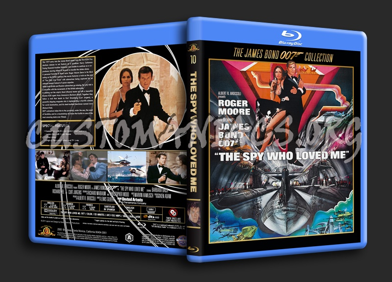 The Spy Who Loved Me blu-ray cover