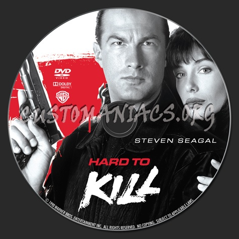 Hard to Kill dvd label