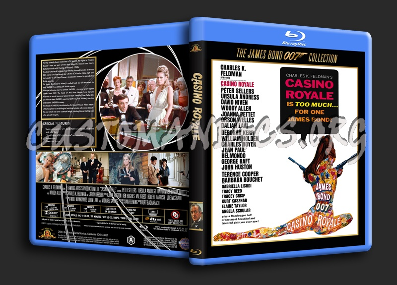 Casino Royale (1967) blu-ray cover