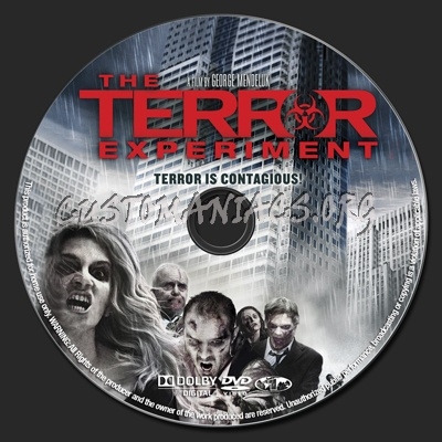 The Terror Experiment dvd label