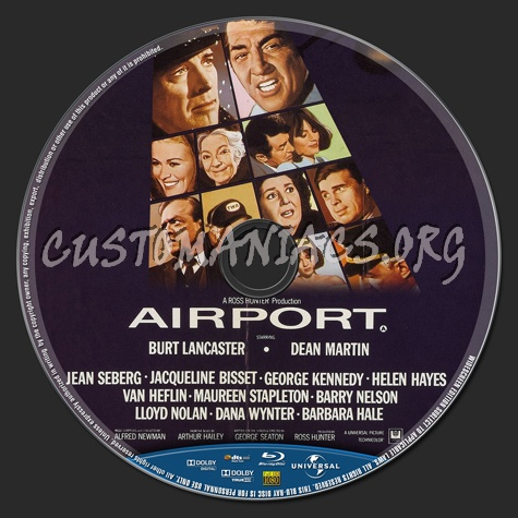 Airport (1970) blu-ray label