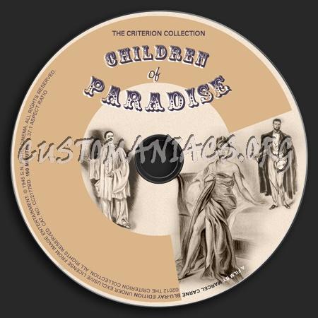 141 - Children of Paradise dvd label
