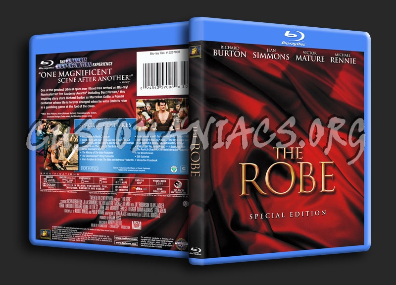 The Robe blu-ray cover