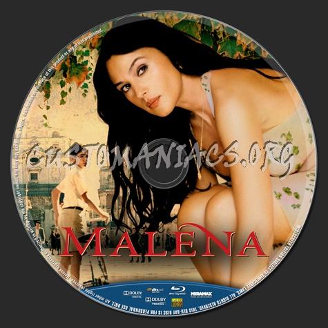 Malena blu-ray label