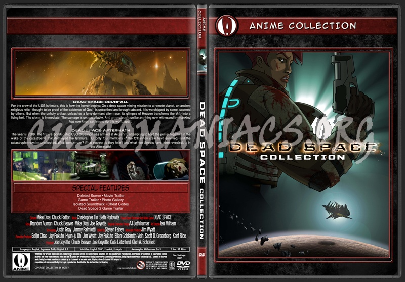Anime Collection Dead Space Collection Dvd Covers Labels By