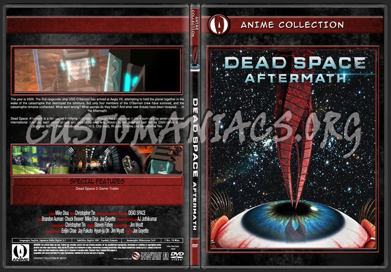 Anime Collection Dead Space Aftermath Dvd Covers Labels By