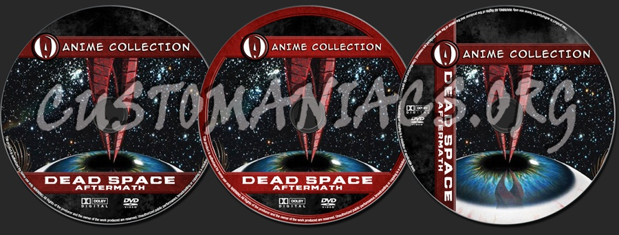 Anime Collection Dead Space Aftermath Dvd Label Dvd Covers