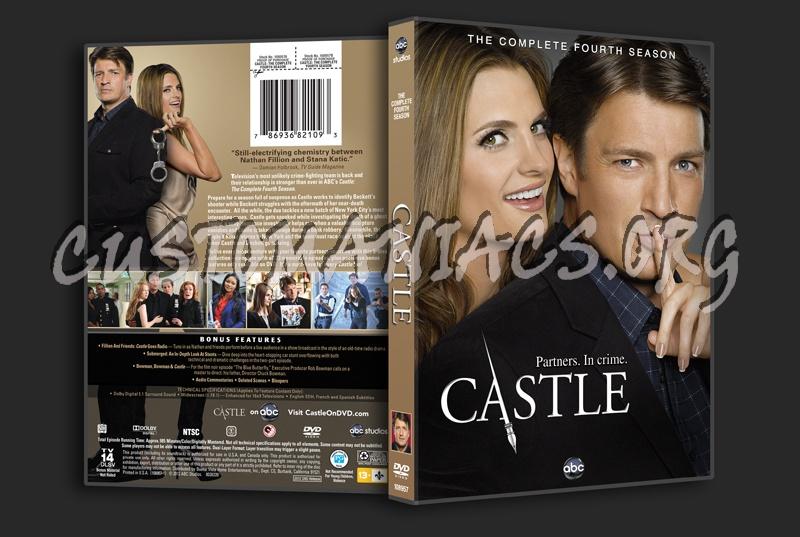 Castle Season 4 Dvd Cover