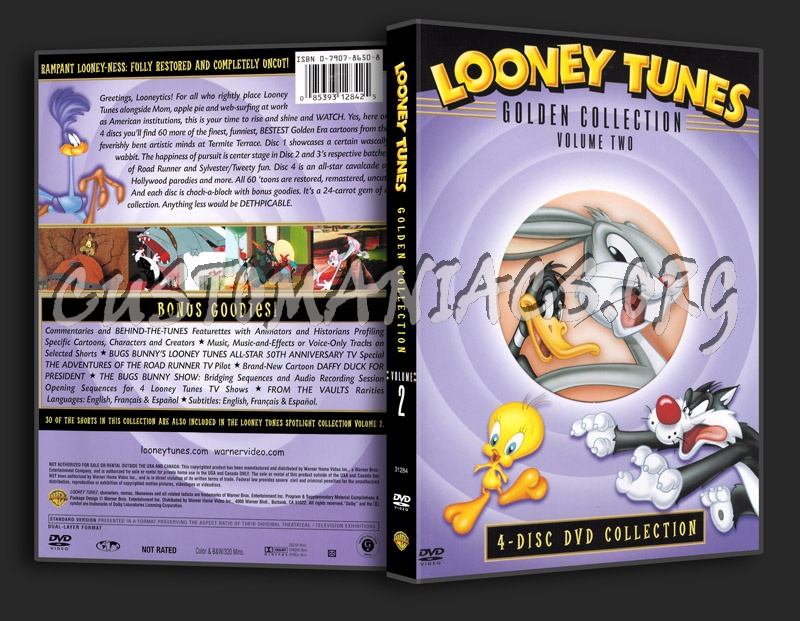 Looney Tunes Golden Collection - Volume 2 dvd cover