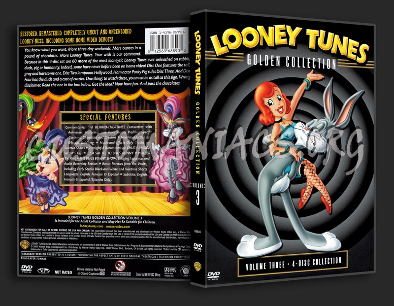 Looney Tunes Golden Collection - Volume 3 dvd cover