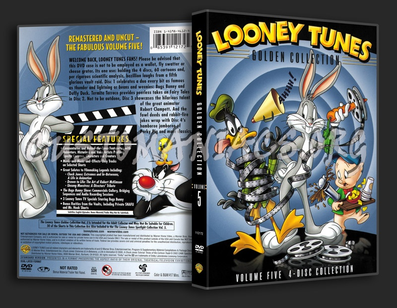 Looney Tunes Golden Collection - Volume 5 dvd cover