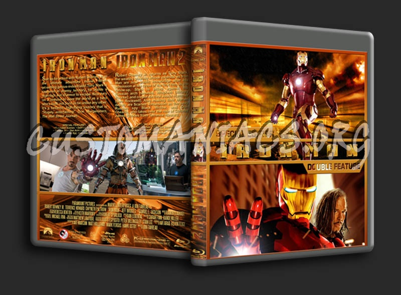 Iron Man Double Feature dvd cover