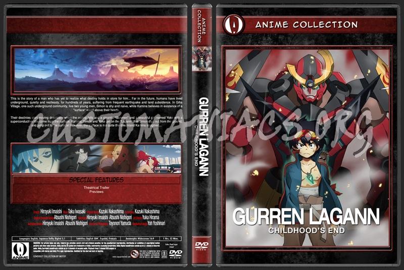 Anime Collection Gurren Lagann Childhood's End dvd cover