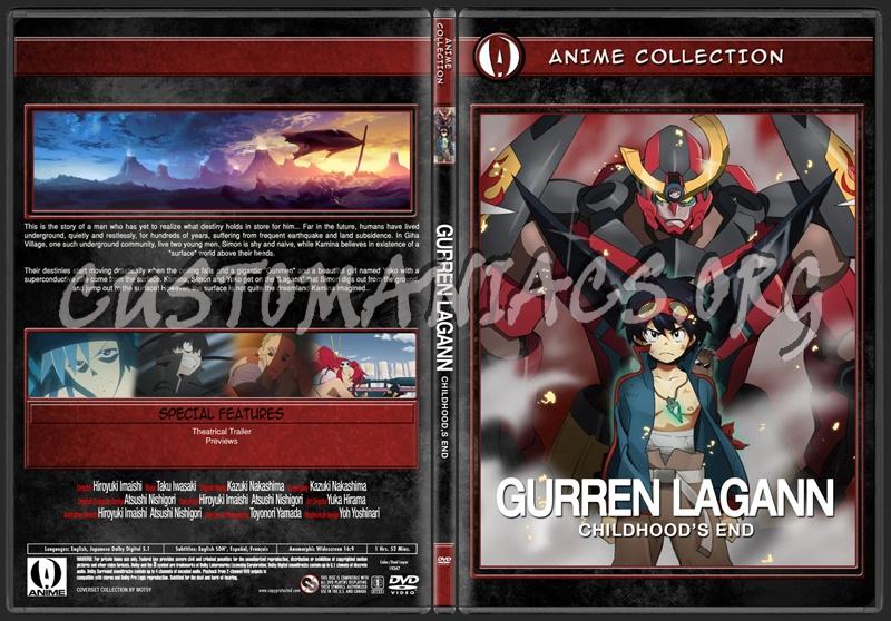 Anime Collection Gurren Lagann Childhood's End