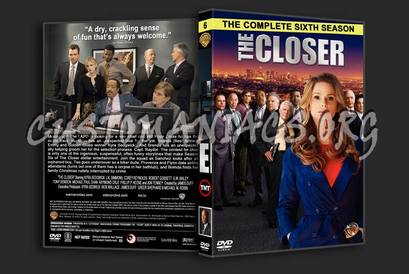 The Closer: Seasons 1-7 dvd cover