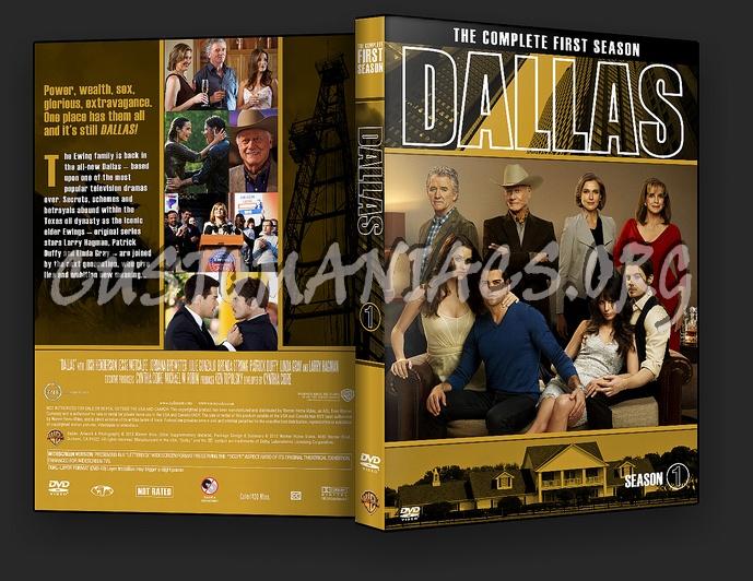 Dallas (2012) Season 1 dvd cover