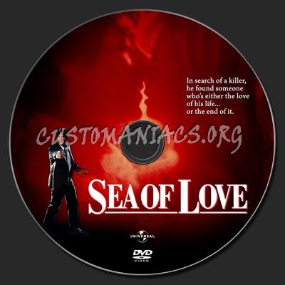 Sea Of Love (1989) dvd label