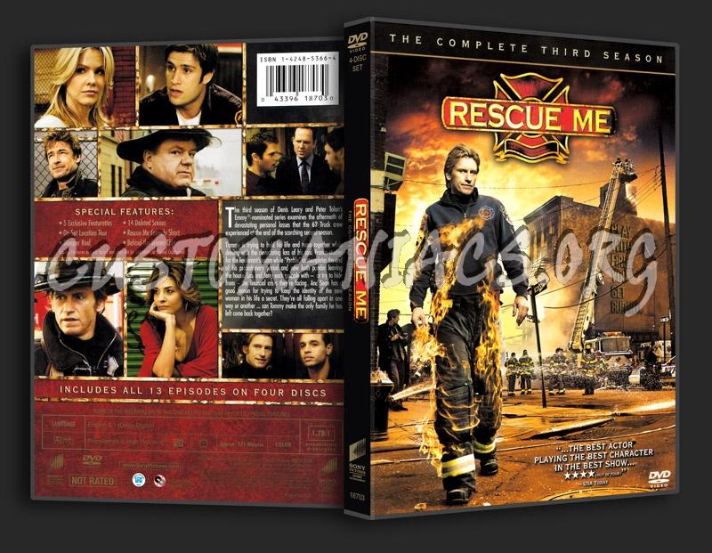 Rescue Me Season 3 dvd cover