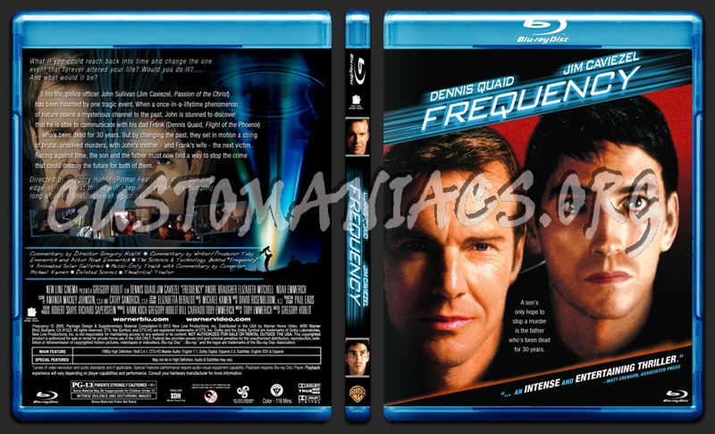 Frequency blu-ray cover