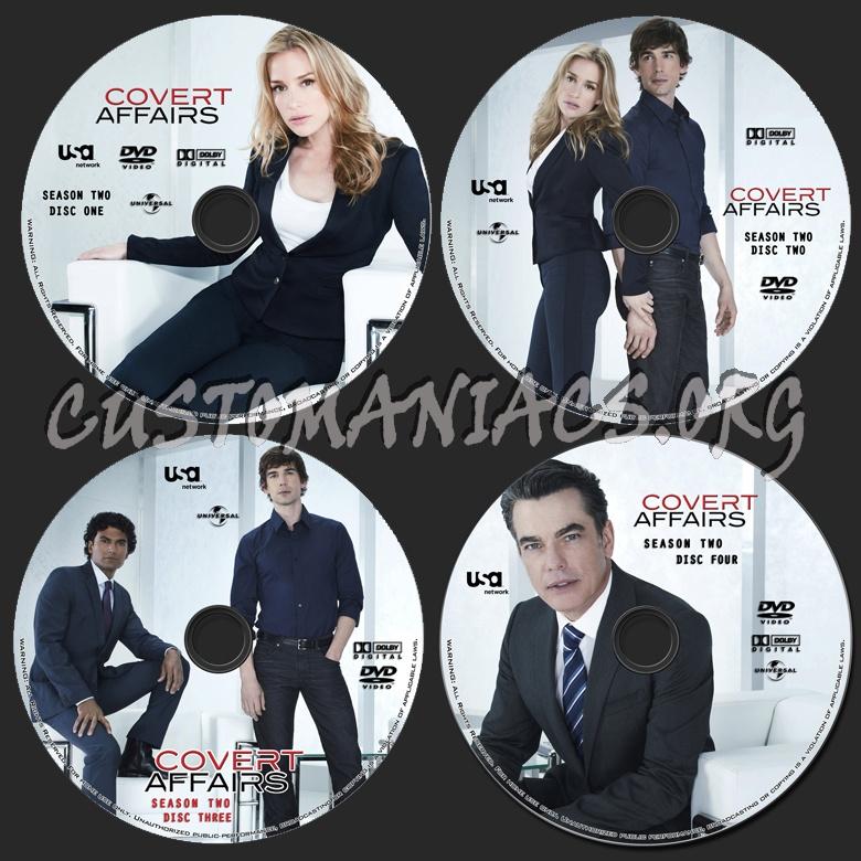 Covert Affairs - Season 2 dvd label