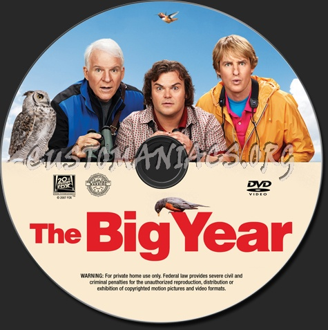 The Big Year Blu-ray & DVD Review  |The Big Year Dvd