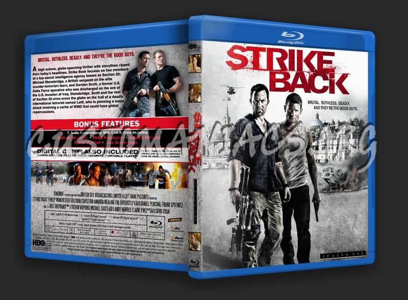 Strike Back Season 1 blu-ray cover