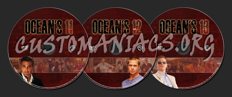 Ocean's Collection dvd label