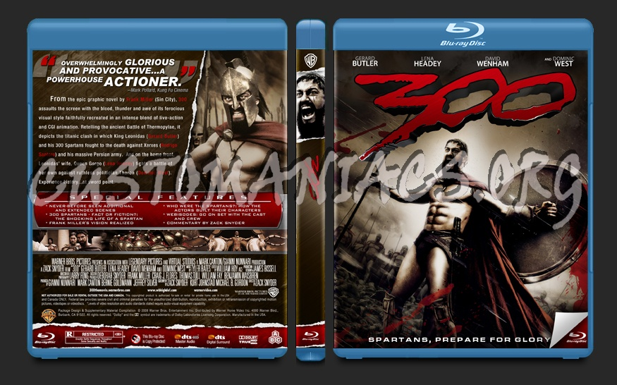 300 blu-ray cover
