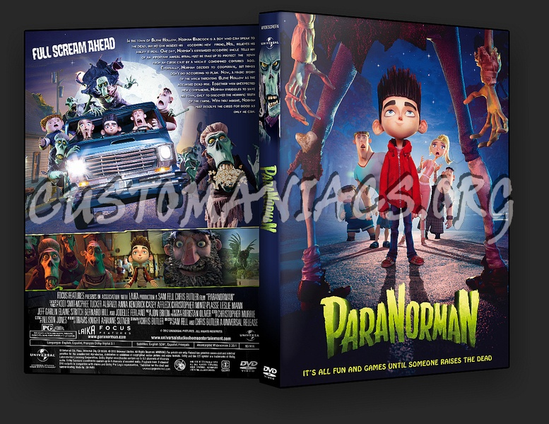 ParaNorman 2012 dvd cover
