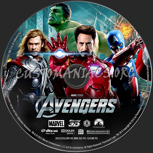 Posts the avengers 3d blu ray label the avengers 3d