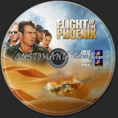 Flight of the Phoenix dvd label