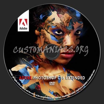 Custom label for adobe photoshop cs6 extended