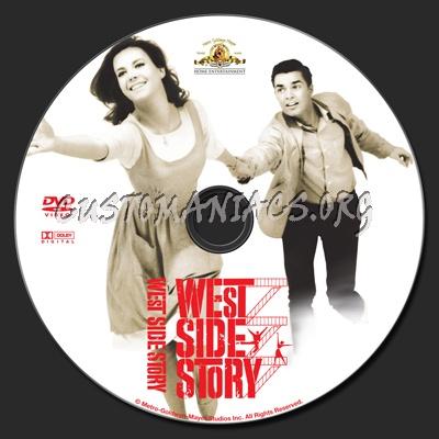 West Side Story 1961 dvd label