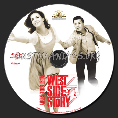 West Side Story 1961 blu-ray label