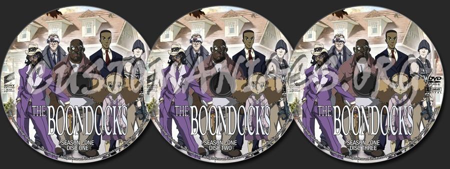 The boondocks season one dvd label dvd covers labels by customaniacs id 126996 free - Boondocks season download ...