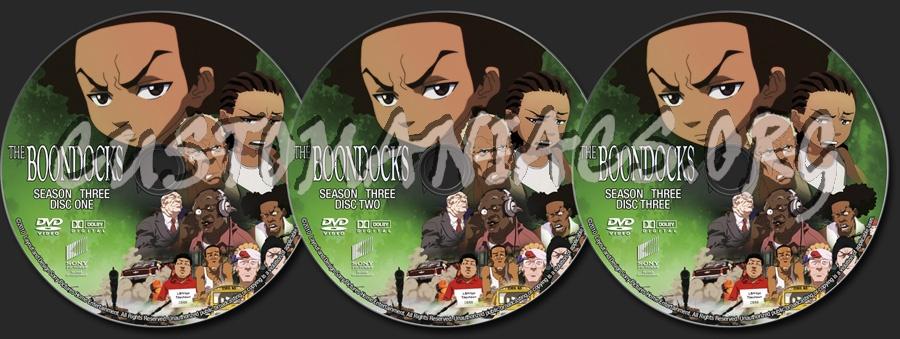 The boondocks season three dvd label dvd covers labels by customaniacs id 126998 free - Boondocks season download ...