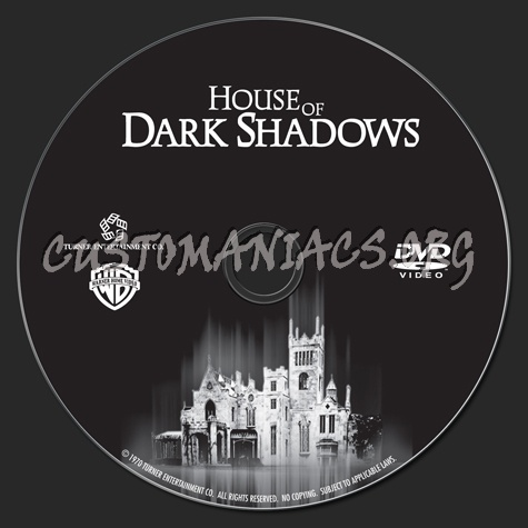 House of Dark Shadows dvd label