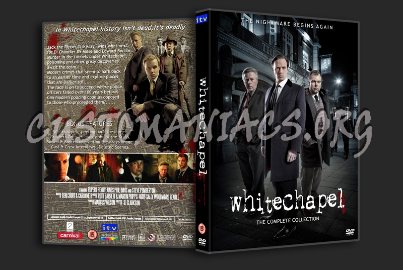 Whitechapel The Collection dvd cover