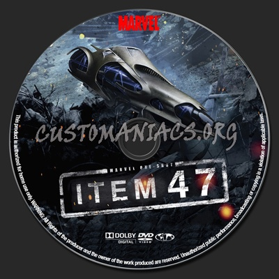 Marvel One Shot Item 47 Dvd Label Dvd Covers Labels By