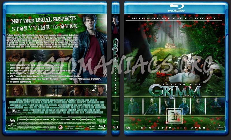 Grimm - Season 01 blu-ray cover