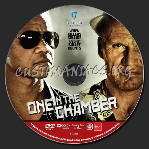 One In The Chamber dvd label