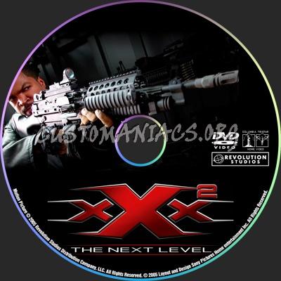 XXX 2 the next level dvd label