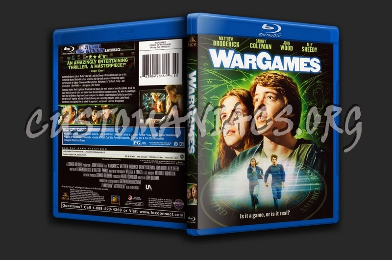 Wargames blu-ray cover
