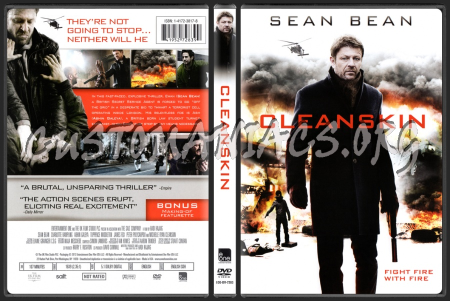 Cleanskin dvd cover