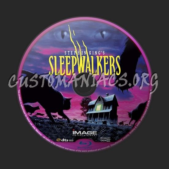 Sleepwalkers blu-ray label