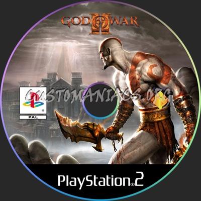 Dvd God of War God of War ii Dvd Label