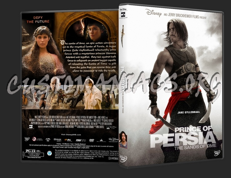 Prince Of Persia The Sands Of Time Dvd Cover Dvd Covers Labels By Customaniacs Id 175626 Free Download Highres Dvd Cover